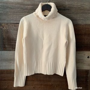 J. Crew 100% Wool Cowl Neck Sweater Size Medium